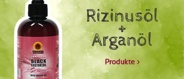 Rizinusöl & Arganöl